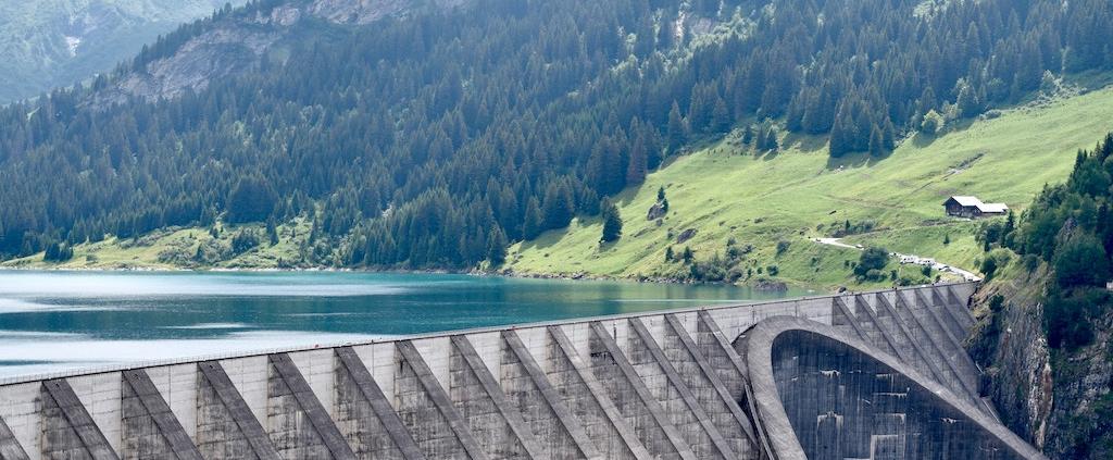 Image of a dam