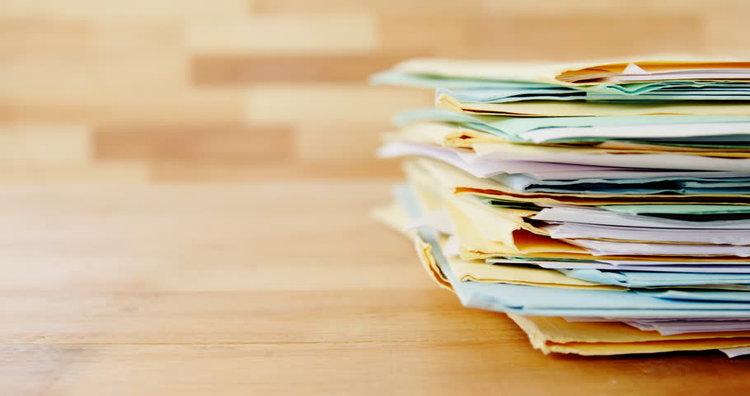 Paper files